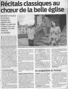 Journal Sud-Ouest, 20 août 2010