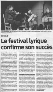 Journal Sud-Ouest, 30 août 2011